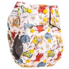 GlorYes! Многоразовый подгузник Premium Котята 3-18 кг + два вкладыша
