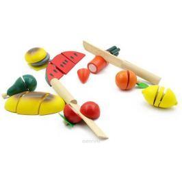 Игрушки из дерева Игровой набор Готовим завтрак средний