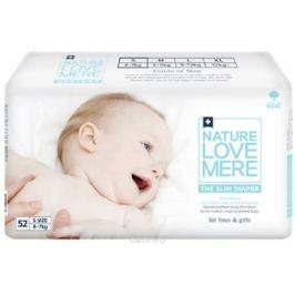 Nature Love Mere Подгузники Slim Premium от 4 кг 52 шт