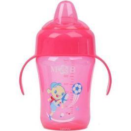 Mum&Baby Поильник с мягким носиком цвет розовый 240 мл