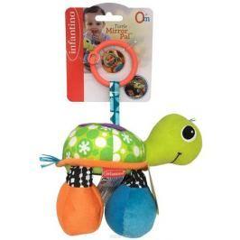 Infantino Игрушка-подвеска Черепашка цвет зеленый