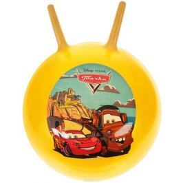 Играем вместе Мяч-прыгунок Тачки с рожками цвет желтый 45 см