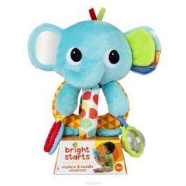 Bright Starts Развивающая игрушка Ласковый слоненок