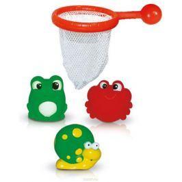 BebeLino Набор игрушек для ванной Рыбалка с сачком