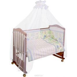 Сонный гномик Комплект белья для новорожденных Считалочка цвет светло-зеленый 6 предметов
