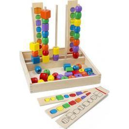Melissa & Doug Обучающая игра Первые игрушки Формы и цвета