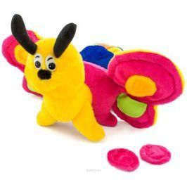 PicnMix Развивающая игрушка Гусеница-бабочка Веселые застежки