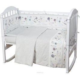 Baby Nice Комплект постельного белья детский Ежик цвет белый C611