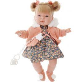 Llorens Кукла Кейт цвет куртки оранжевый