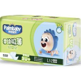 Palmbaby Подгузники детские L 9-14 кг 52 шт