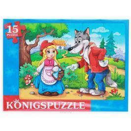 Konigspuzzle Пазл-рамка для малышей Красная шапочка-3