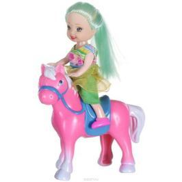 Shantou Мини-кукла Bettina с лошадью