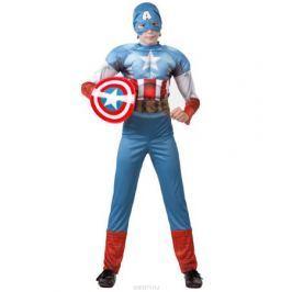 Батик Костюм карнавальный для мальчика Капитан Америка размер 32