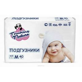 Touching Nature Подгузники M 5-10 кг 40 шт