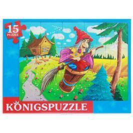 Konigspuzzle Пазл-рамка для малышей Баба яга