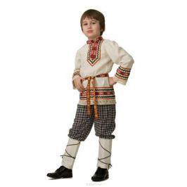 Батик Костюм карнавальный для мальчика Славянский костюм Рубашка вышиванка размер 40