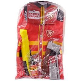 ABtoys Набор пожарного Важная работа 7 предметов