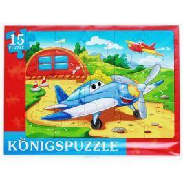 Konigspuzzle Пазл-рамка для малышей Быстрые самолетики