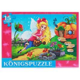 Konigspuzzle Пазл-рамка для малышей Фея в саду