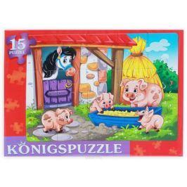 Konigspuzzle Пазл-рамка для малышей Суперферма