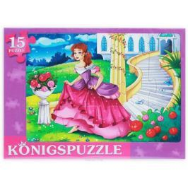 Konigspuzzle Пазл-рамка для малышей Золушка-3