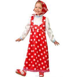 Батик Костюм карнавальный для девочки Маша цвет красный белый размер 30
