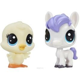 Littlest Pet Shop Набор фигурок Dash Horseton & May Duckly