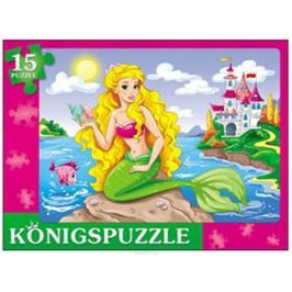 Konigspuzzle Пазл-рамка для малышей Милая русалочка