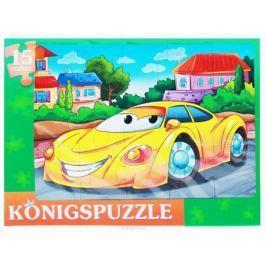 Konigspuzzle Пазл-рамка для малышей Модная машинка