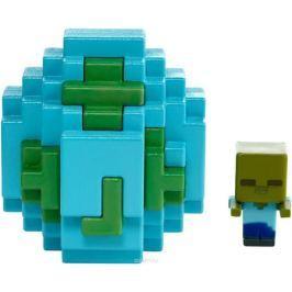 Minecraft Мини-фигурка в яйце цвет голубой FMC85