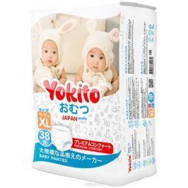 Yokito Подгузники-трусики XL 13-17 кг 38 шт
