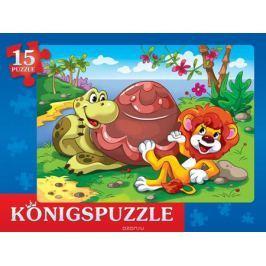 Konigspuzzle Пазл-рамка для малышей Сказка № 60
