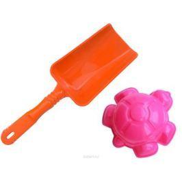 Игрушки Поволжья Набор для песочницы формочка и лопатка 16,5 см