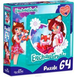 Enchantimals Пазл для малышей Фелисити Лис и Флик