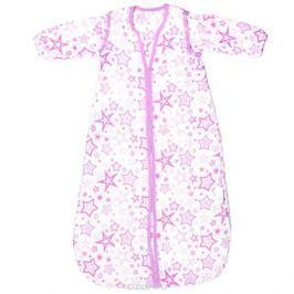 GlorYes! Спальный мешок Розовые звезды 9 месяцев-2,5 года