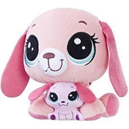 Littlest Pet Shop Мягкая игрушка Пет и его малыш Holly & Bitsy