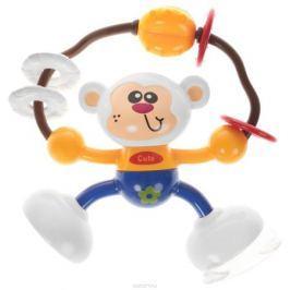 Ути-Пути Развивающая игрушка Обезьянка цвет оранжевый синий