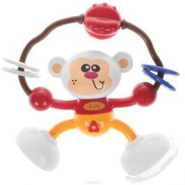 Ути-Пути Развивающая игрушка Обезьянка цвет красный оранжевый