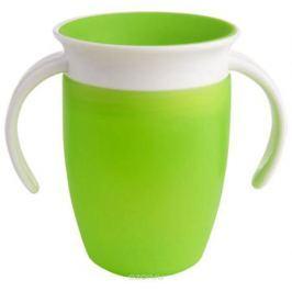 Munchkin Поильник-непроливайка Miracle 360° цвет зеленый от 6 месяцев 207 мл