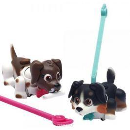 Pet Club Parade Набор фигурок Собачки с косточками и поводками