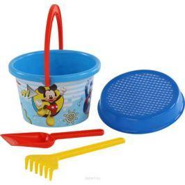 Disney Набор игрушек для песочницы Микки и Веселые гонки №6