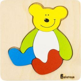 Alatoys Пазл для малышей Медвежонок ПЗЛ1805