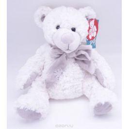Magic Bear Toys Мягкая игрушка Мишка Сэмюэл в шарфе 28 см