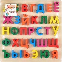 Mapacha Пазл для малышей Вкладыши Алфавит