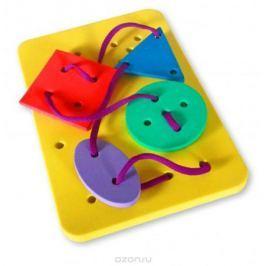 Бомик Игра-шнуровка Геометрические фигуры в ассортименте