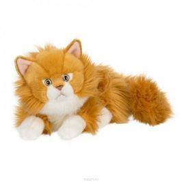 Anna Club Plush Кот сибирский рыжий, лежит 25 см