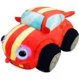 1TOYМягкая озвученная игрушка Дразнюка-Биби Гоночная машинка 15 см
