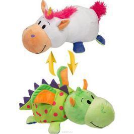 1TOYМягкая игрушкаВывернушка 2в1 Единорог-Дракон 40 см