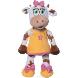 Comx Мягкая игрушка Корова Bella цвет оранжевый 32 см