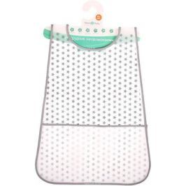 Mum&Baby Нагрудник с карманом Звезды цвет серый 2793115